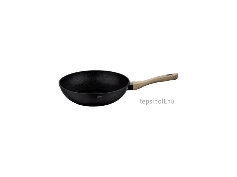Berlinger Haus Ebony Maple Line wok márvány bevonattal