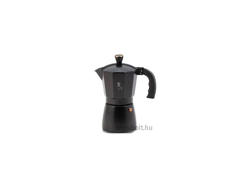 Berlinger Haus Black Rose 6 személyes kotyogós kávéfőző
