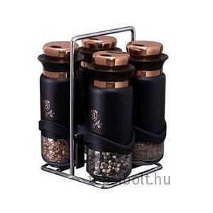 Berlinger Haus Black Rose Collection 5 részes fűszertartó ké