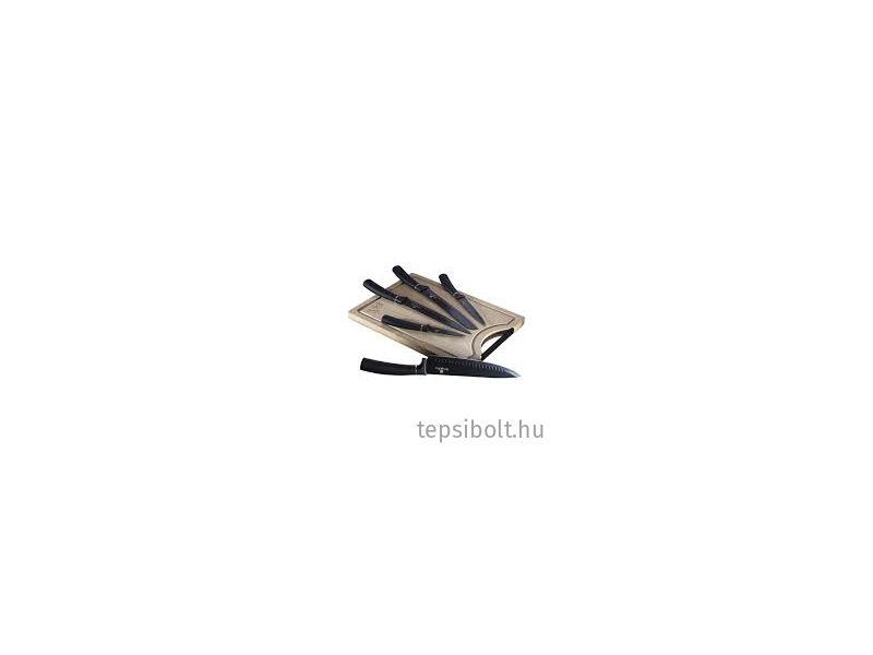 Berlinger Haus Black Silver 6 részes késkészlet