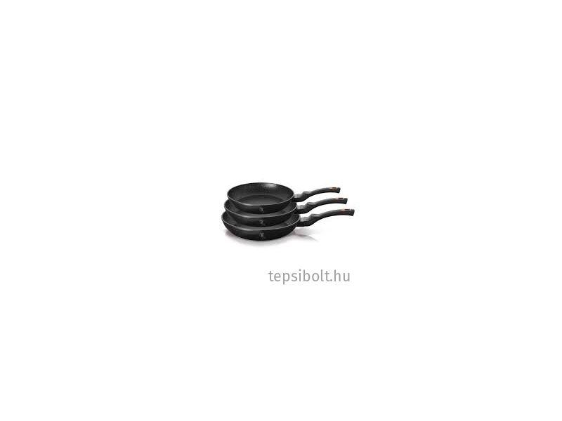 Berlinger Haus Black Rose 3 részes serpenyőkészlet