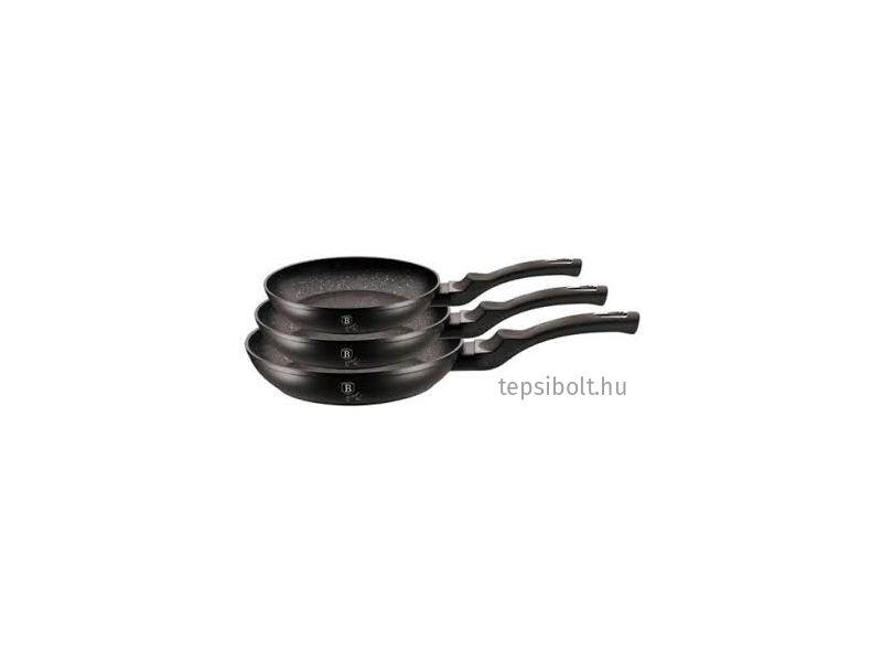 Berlinger Haus Black Silver 3 részes serpenyőkészlet