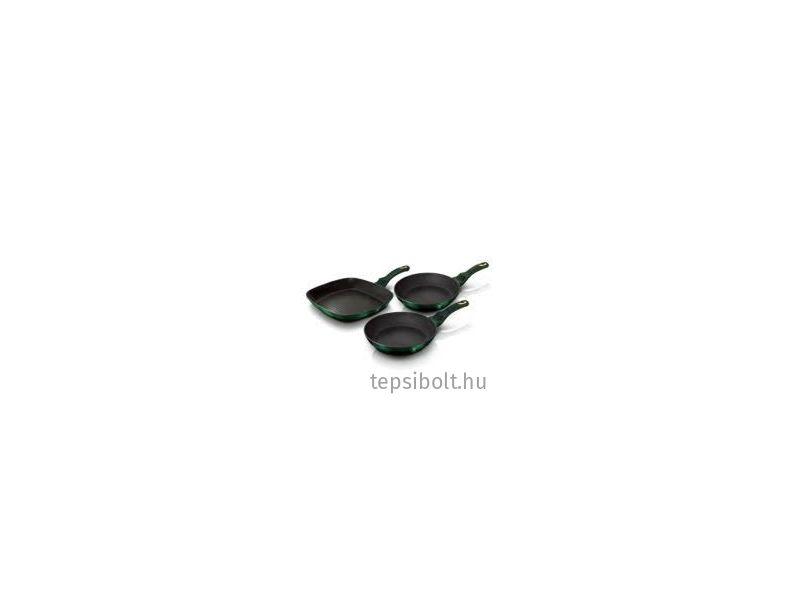 Berlinger Haus Emerald serpenyő készlet 3 db-os