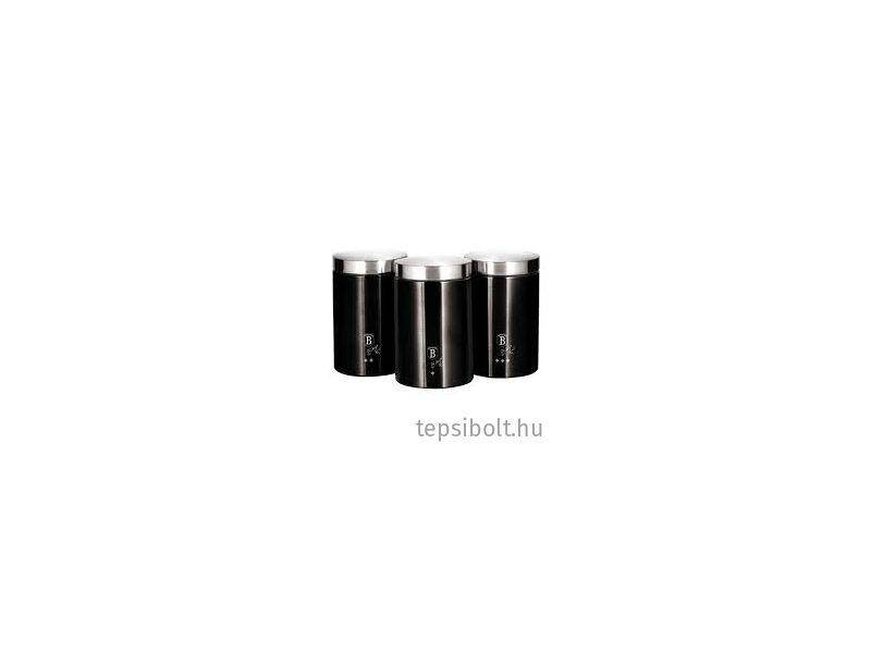 Berlinger Haus Black Silver 3 db-os konyhai tárolódoboz