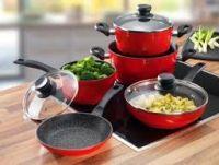 Indukciós főző felületen használható edények