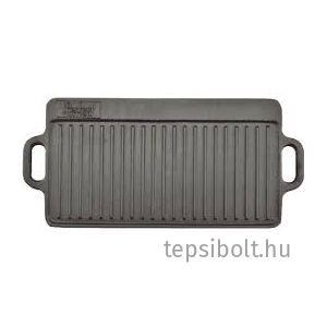 Perfect Home Öntöttvas grill lap 2 oldalas 51x24 cm