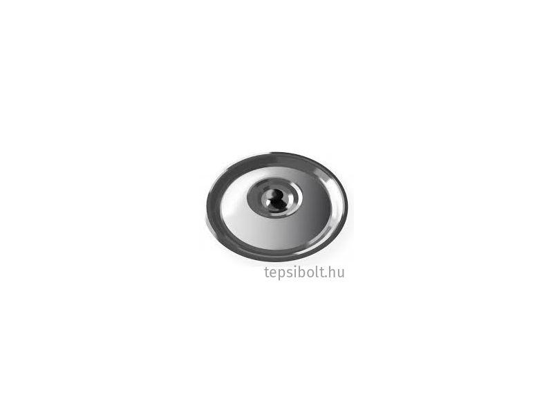 Bogrács fedő rozsdamentes (13-14 liter)