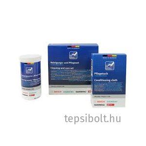 Bosch/Siemens tisztító készlet nemesacél készülékekhez  0031