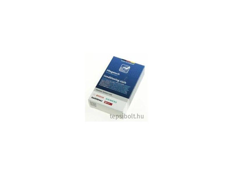 Bosch/Siemens tisztító kendő nemesacél felületekhez 00312007