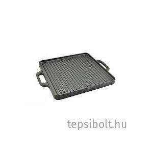 Öntöttvas grill lap32x32 cm